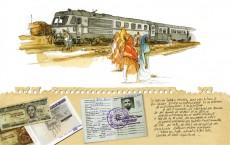 Extrait de Fierté de fer - Carnet de voyage sur le train Djibouto-éthiopien