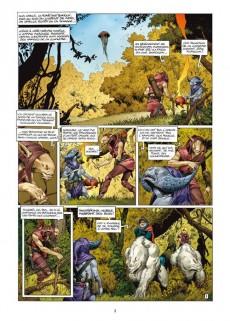 Extrait de Les forêts d'Opale -5- Onze racines