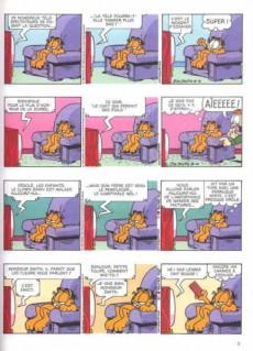 Extrait de Garfield -34- Garfield mange plus vite que son ombre