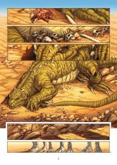 Extrait de La geste des Chevaliers Dragons -3- Le pays de non-vie