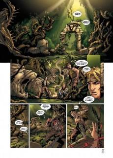 Extrait de La geste des Chevaliers Dragons -5- Les Jardins du Palais