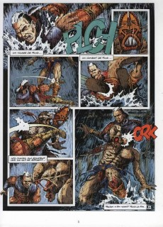 Extrait de Les guerriers -2- Le cœur de Ten-Rau