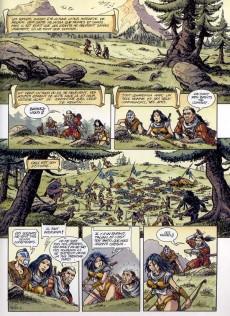 Extrait de Les guerriers -5- Le trône des Salens