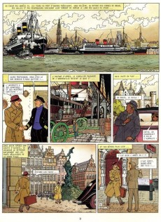 Extrait de Harry Dickson (Vanderhaeghe/Zanon) -4- Le royaume introuvable
