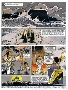 Extrait de Henri Georges Midi (Les aventures d') -3- Les 5 lumières de Varek