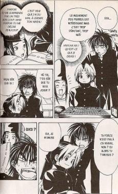 Extrait de Hikaru no go -2- Sa première partie