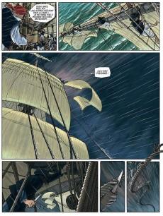 Extrait de H.M.S. - His Majesty's Ship -1- Les Naufragés de la Miranda