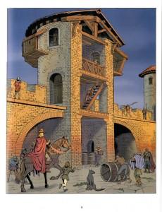 Extrait de Jhen (Les voyages de) -3- Carcassonne