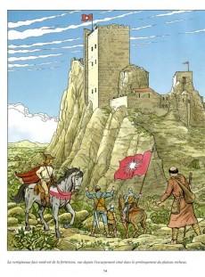 Extrait de Jhen (Les voyages de) -1- Les Baux de Provence