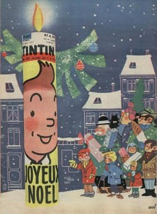 Extrait de (Recueil) Tintin (Album du journal - Édition française) -52- Tintin album du journal