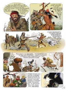 Extrait de La légende d'Oregon-Jo -1- L'esclave du Major Lewis