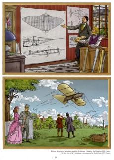 Extrait de Lefranc (Les voyages de/Les reportages de) -1- L'aviation (1)