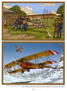 Extrait de Lefranc (Les voyages de/Les reportages de) -2- L'aviation (2)