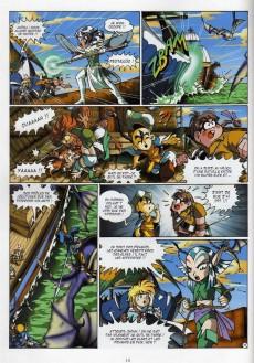 Extrait de Les légendaires -3- Frères Ennemis