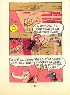 Extrait de Le baron -3MR1428- Les moustiques du Baron