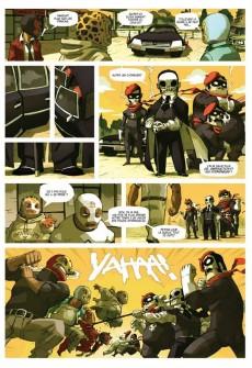 Extrait de Lucha Libre -1- Introducing: The Luchadores Five
