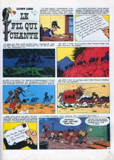 Extrait de Lucky Luke -46- Le fil qui chante