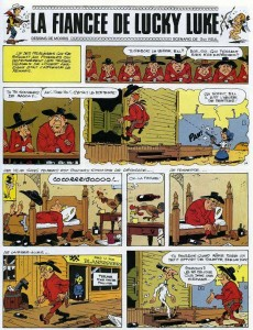 Extrait de Lucky Luke -54- La fiancée de Lucky Luke