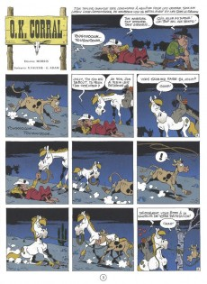 Extrait de Lucky Luke -66- O.K. Corral