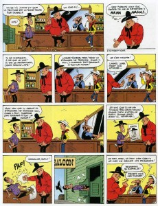Extrait de Lucky Luke -69- L'artiste peintre