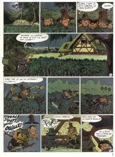 Extrait de Les mémoires de Mathias -2- Le masque iroquois
