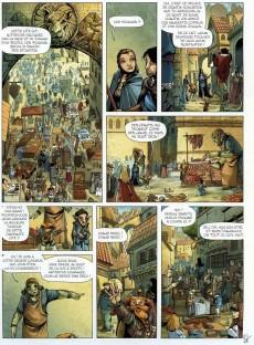 Extrait de Merlin - La quête de l'épée -1- Prophétie
