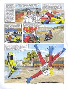 Extrait de Michel Vaillant -02Pub- Le héros du Paul Ricard