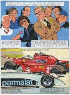 Extrait de Michel Vaillant -40- Rififi en F1