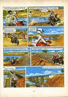 Extrait de Michel Vaillant -41Elf1- Paris-Dakar !