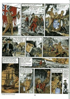 Extrait de Les pionniers du Nouveau Monde -5b1990- Du sang dans la boue