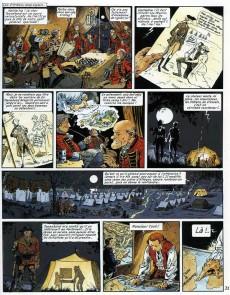 Extrait de Les pionniers du Nouveau Monde -5c1999- Du sang dans la boue
