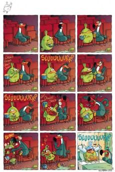 Extrait de Le piou -1- idiot d'oiseau