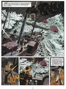 Extrait de Professeur Stratus -4- Le monstre des mers