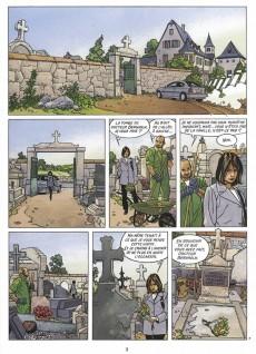 Extrait de Rafales (Desberg/Vallès) -1- Les inhumains