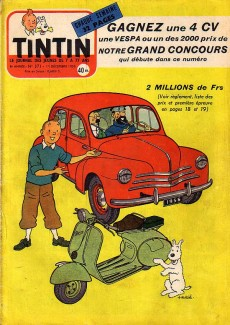 Extrait de (Recueil) Tintin (Album du journal - Édition française) -26- Tintin album du journal