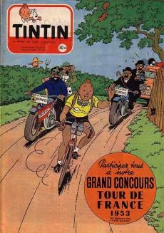 Extrait de (Recueil) Tintin (Album du journal - Édition française) -16- Tintin album du journal
