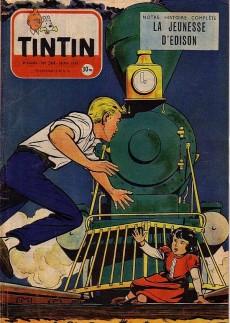 Extrait de (Recueil) Tintin (Album du journal - Édition française) -24- Tintin album du journal