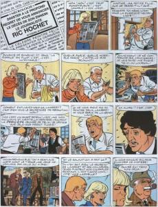 Extrait de Ric Hochet -60- Crime sur internet
