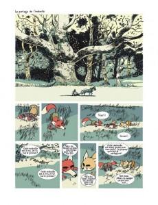 Extrait de Le roman de Renart (Martin) -1- Les jambons d'Ysengrin