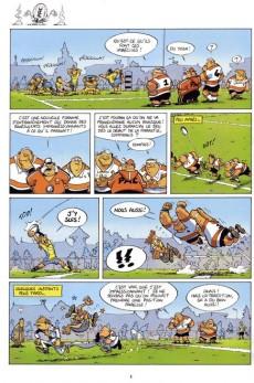 Extrait de Les rugbymen -2- Si on gagne pas, on a perdu !