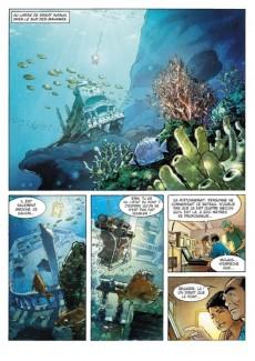 Extrait de Russell Chase -3- Bleu Caraïbes