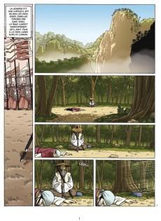 Extrait de Le sabre et l'épée -2- Au cœur des rivières et des lacs...