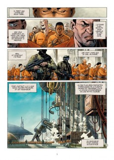 Extrait de Sept -7- Sept Prisonniers