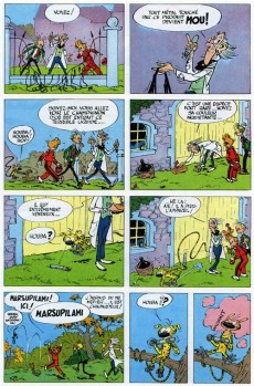 Extrait de Spirou et Fantasio -7a66- Le dictateur et le champignon