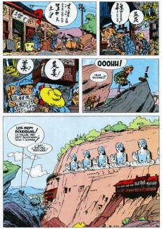 Extrait de Spirou et Fantasio -14a66- Le prisonnier du Bouddha