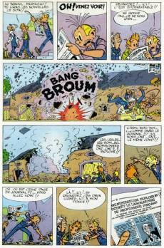 Extrait de Spirou et Fantasio -9a1965- Le repaire de la murène