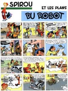 Extrait de Spirou et Fantasio -6- (Int. Dupuis 2) -1- Les débuts d'un dessinateur