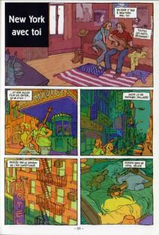 Extrait de Chansons en Bandes Dessinées  - Chansons de Téléphone en bandes dessinées