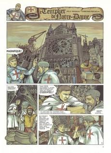 Extrait de Le templier de Notre-Dame -1- L'envoûtement