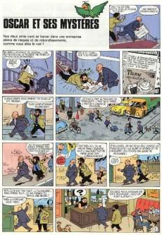 Extrait de Tif et Tondu -3'- Oscar et ses mystères